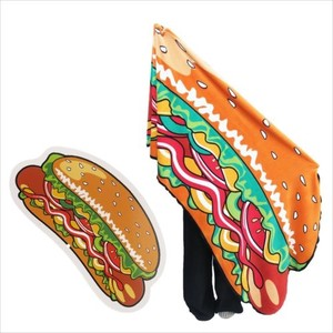 Hot Dog Die Cut Big Blanket