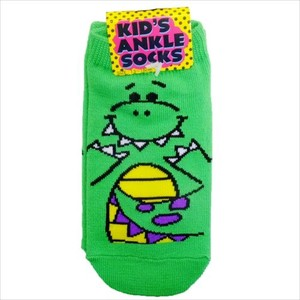 Dinosaur Kids Socks Green