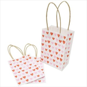 Craft Handbag Paper Bag 3 Pcs Set Heart