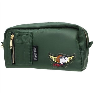 Snoopy Type Pencil Case Green