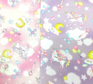 IRO COLE Fabric Unicorn Planet Fabric Handmade Admission