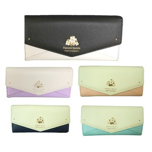 Bijou Flower Long Wallet