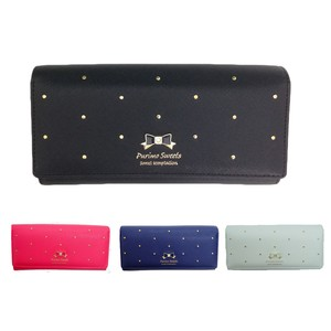 Girly Studs Long Wallet