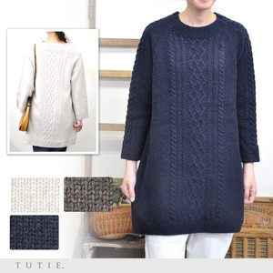 Fine Quality Merino Wool Pullover Tunic
