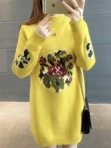 2017 A/W Ladies Knitted Tunic
