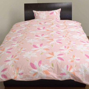 Floral Pattern Bedspread Cover Mattress Cover Pillow Case