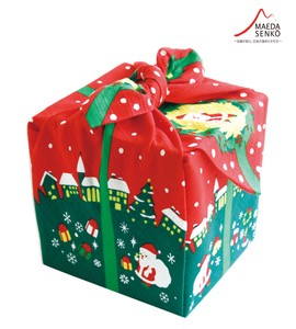 Christmas gift wrapping paper setsubun