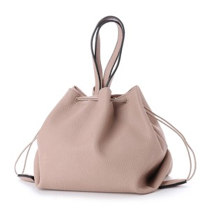 Handle Attached Pouch Shoulder Bag
