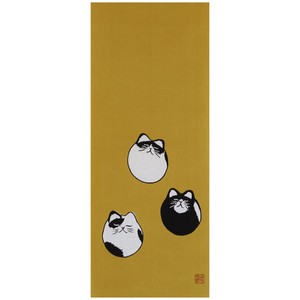 Hand Towel Cat Japanese Craft Cat Miscellaneous goods