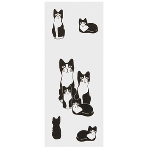 Hand Towel Jiro Japanese Craft Cat Miscellaneous goods