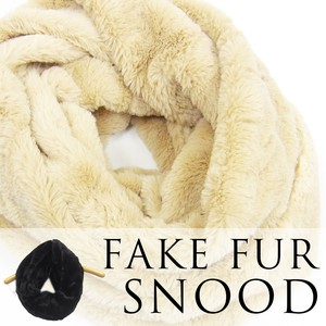 This Season Fur Tailoring Soft Snood
