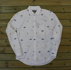 Cut Jacquard Regular Shirt