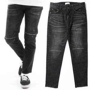 2017 A/W Men's Denim Pants Skinny Slim Tapered