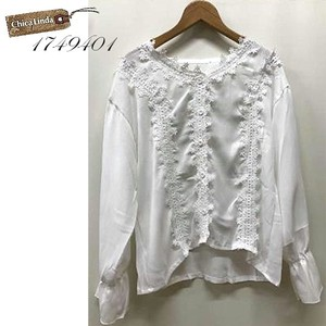 Lace Blouse Triple Lace Toyayanagi Cardigan Blouse