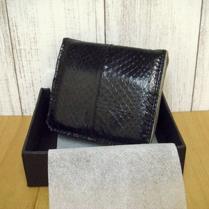 Exotic Leather Box Coin Case Fancy Box