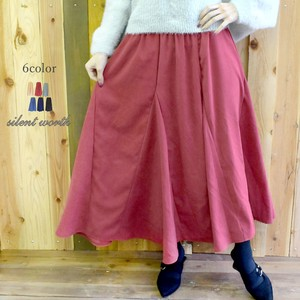 S/S Popular Suede 12 Pcs Flare Skirt