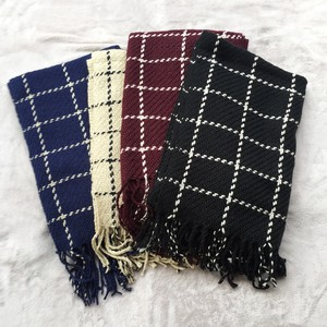 Window Checkered Large Format Stole Scarf Checkered Fancy Goods Plus