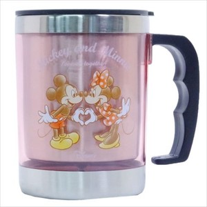 Mick Minnie With Lid Stainless Mug