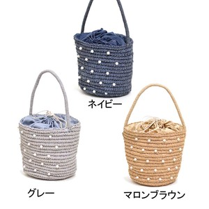 2018 S/S Miscellaneous Materials Pouch Basket Bag Bag