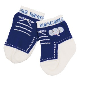 Baby Shoes Socks Blue