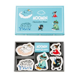 The Moomins Character Plate Set
