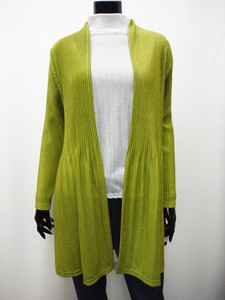 Spring Items Pleats Long Cardigan