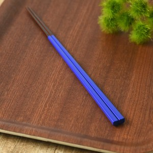 Japan Chopstick Navy Blue Wakasa Paint Japanese Plates & Utensil