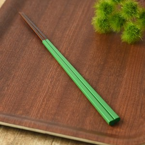 Japan Chopstick Green Wakasa Paint Japanese Plates & Utensil