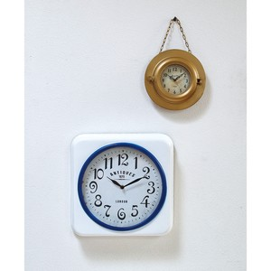 OCEAN DECO IRON CLOCK