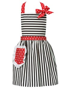 Apron for Kids Apron Red Kitchen