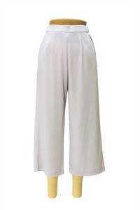 Hit Line Spring Items ponte fabric wide pants
