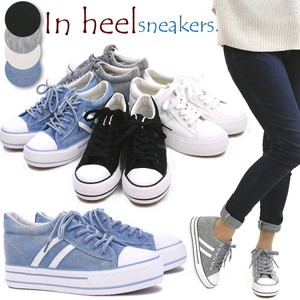 Early Spring Low-rise Sneaker Ladies Heel Lace