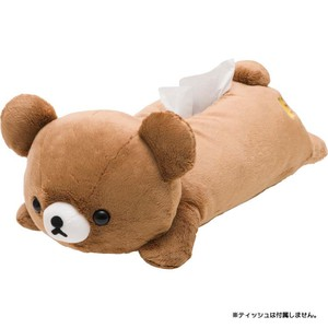 Rilakkuma Tissue Box Cover Brown Harvest