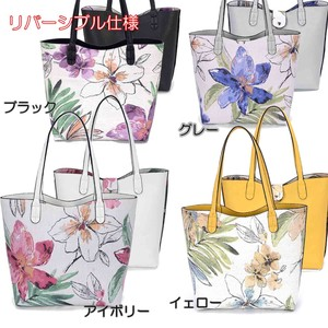 2018 S/S Floral Pattern Reversible Specification Handbag