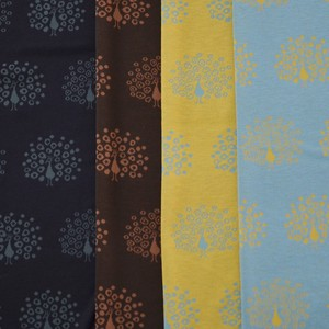 Fabric 4 Colors Jacquard Print New Pattern