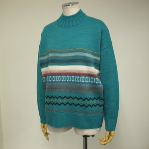 A/W Native Card Long Sleeve Pullover
