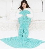 Mermaid Blanket 3 Colors Assort