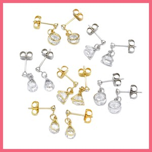 Gift Show Cubic Chief Pierced Earring