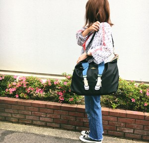 Nylon Skinny Carry Bag