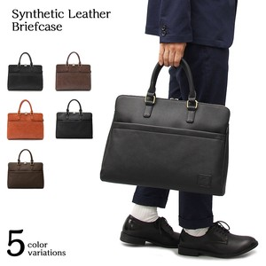Genuine Leather Antique Leather Brief Case Business Bag