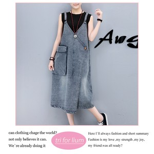 Switch Design Denim Material Overall