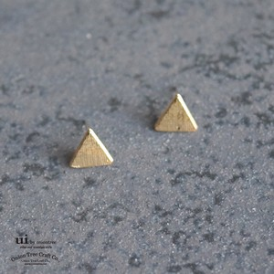 Limit Pierced Earring Geometry Triangle Triangle Accessory