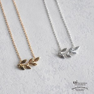 Necklace Leaf Plant Gold Gift Accessory