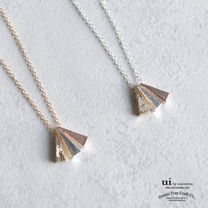 Necklace Geometry Triangle Triangle Triangle Gold Silver Accessory