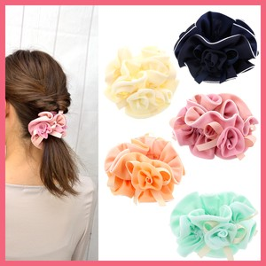 Gift Show Rose 3 Pcs Wide Scrunchy