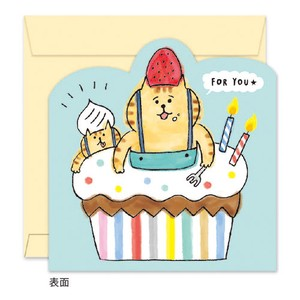 Message Board GOROGORO NYANSUKE Cake