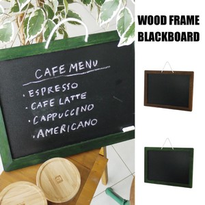 Wood Frame Black Board 2018 S/S Tools/Furniture Blackboard