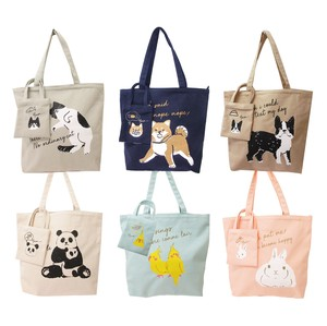2018 S/S Bag Attached Tote