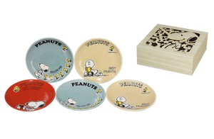 Snoopy Wood Boxed Mini Dish Set