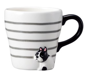 Mug French Bulldog Dog Plates & Utensil